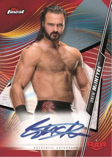 2020 Topps Finest WWE Wrestling Cards 5