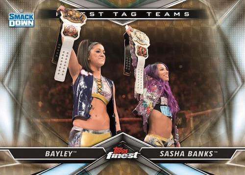 2020 Topps Finest WWE Wrestling Cards 4