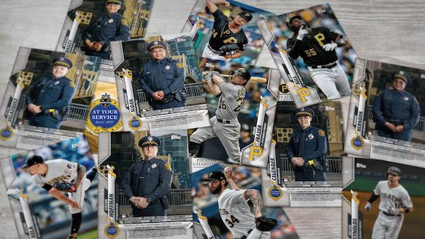 2020 Topps Pittsburgh Pirates Police Baseball Cards 1
