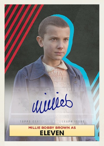 2020 Topps Stranger Things Autograph Collection Trading Cards 1