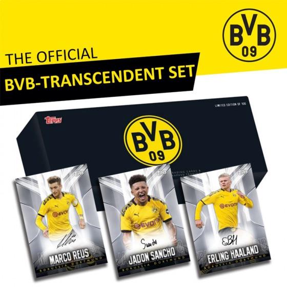 2020 Topps Transcendent BVB Borussia Dortmund Soccer Cards - Checklist Added 3