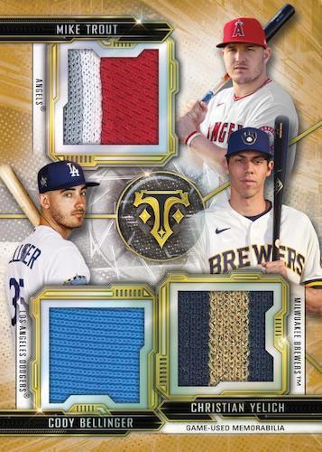 2020 Topps Triple Threads Baseball Cards - Checklist Added 10