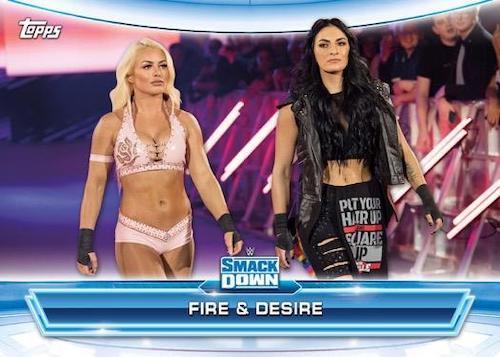 2020 Topps WWE Raw vs. Smackdown Wrestling Cards 2
