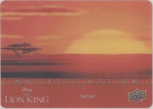 2020 Upper Deck Lion King Trading Cards 10