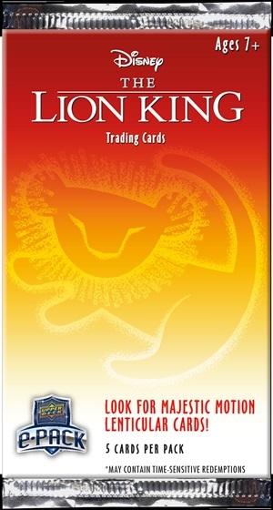 2020 Upper Deck Lion King Trading Cards 3