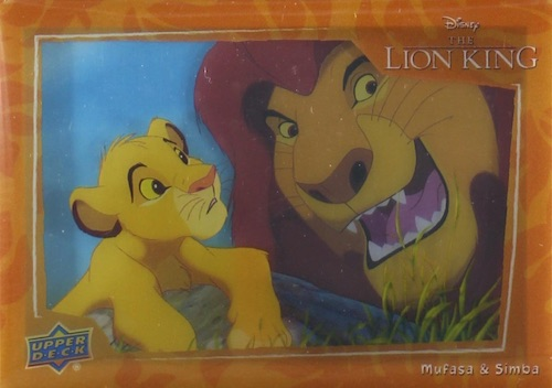 2020 Upper Deck Lion King Trading Cards 12