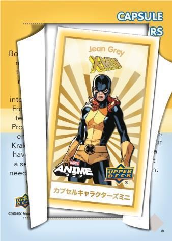 2020 Upper Deck Marvel Anime Trading Cards 7