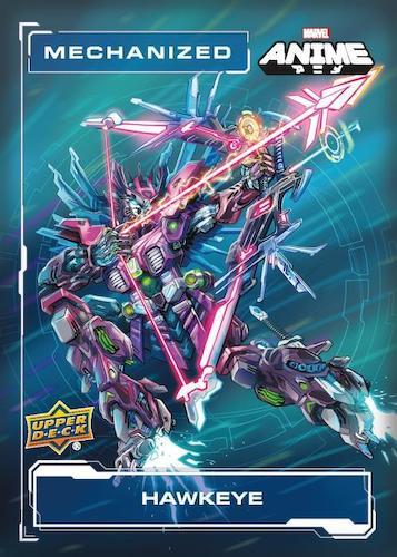 2020 Upper Deck Marvel Anime Trading Cards 4
