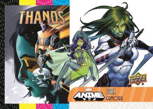 2020 Upper Deck Marvel Anime Trading Cards 5