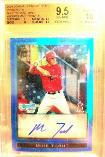 Gone Fishin' for the Top Mike Trout Card Sales of 2020 6