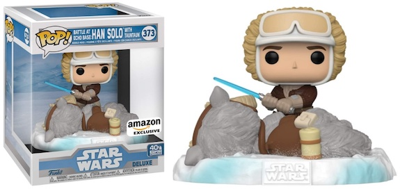 Funko Pop Star Wars Battle at Echo Base Deluxe Figures 2