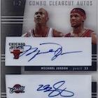Forever 23 - Top Michael Jordan & LeBron James Dual Autograph Cards