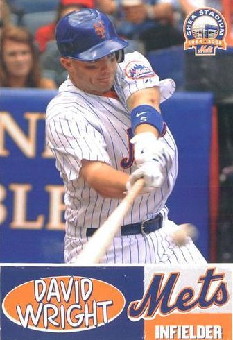 Top 10 David Wright Baseball Cards 1