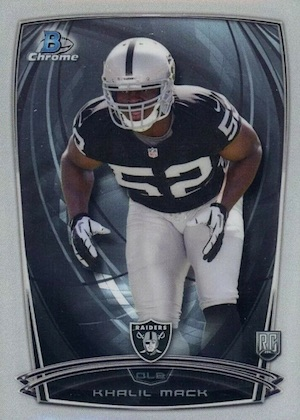 2014 Bowman Chrome Football Variation Short Prints 4