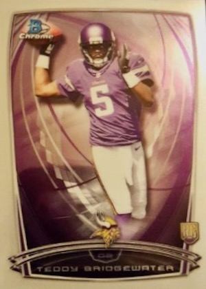 2014 Bowman Chrome Football Variation Short Prints 6