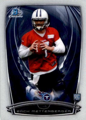 2014 Bowman Chrome Football Variation Short Prints 10