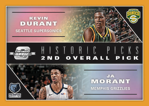 2019-20 Panini Contenders Optic Basketball Cards - Checklist Added 1