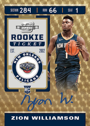 2019-20 Panini Contenders Optic Basketball Cards - Checklist Added 4