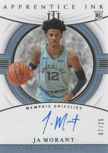 2019-20 Panini National Treasures Basketball Cards 10