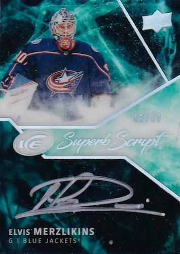 2019-20 Upper Deck Ice Hockey Cards 18