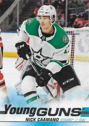 Full 2019-20 Upper Deck Young Guns Rookie Checklist and Gallery 105
