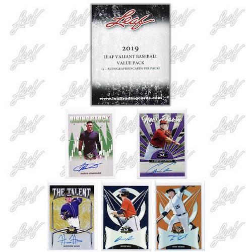 2019 Leaf Valiant Baseball Cards 7