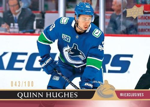 2020-21 Upper Deck Series 1 Hockey Cards - Checklist Added 3