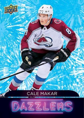 2020-21 Upper Deck Series 1 Hockey Cards - Checklist Added 5