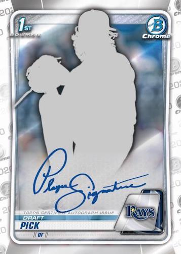 2020 Bowman Draft Baseball Cards 3