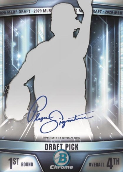 2020 Bowman Draft Baseball Cards 6