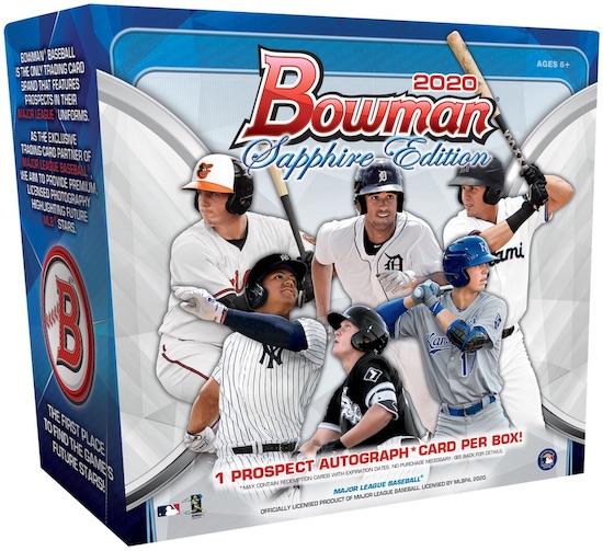 2020 Bowman Sapphire Edition Baseball Cards 3
