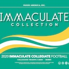 2020 Immaculate Collection Collegiate Football Cards