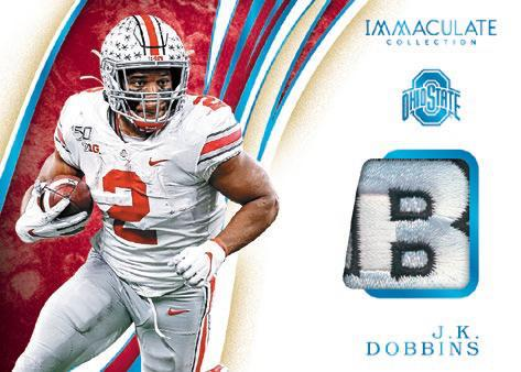 2020 Immaculate Collection Collegiate Football Cards 9