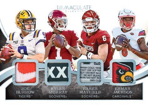 2020 Immaculate Collection Collegiate Football Cards 10