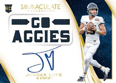 2020 Immaculate Collection Collegiate Football Cards 6