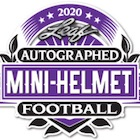 2020 Leaf Autographed Football Mini-Helmet Edition