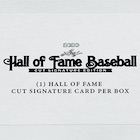 2020 Leaf Hall of Fame Baseball Cut Signature Edition Cards - Checklist Added