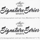 2020 Leaf Signature Series Sports Cards - Checklist Added