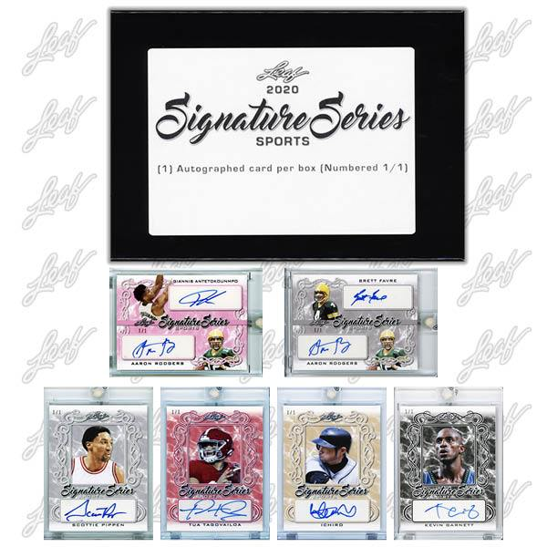 2020 Leaf Signature Series Sports Cards - Checklist Added 1