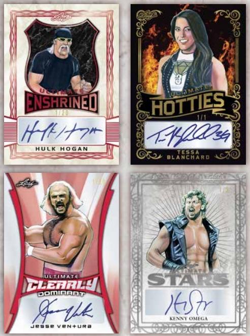 2020 Leaf Ultimate Wrestling Cards 3