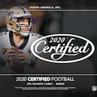 2020 Panini Certified Football Cards