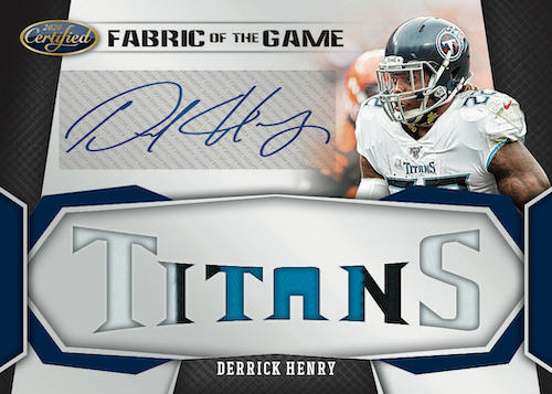 2020 Panini Certified Football Cards - Checklist Added 8