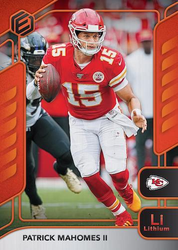 2020 Panini Elements Football Cards 3