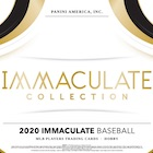 2020 Panini Immaculate Collection Baseball Cards
