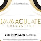 2020 Panini Immaculate Baseball