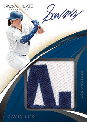 2020 Panini Immaculate Collection Baseball Cards - Checklist Added 4