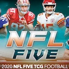 2020 Panini NFL Five Trading Card Game Football Cards - Checklist Added