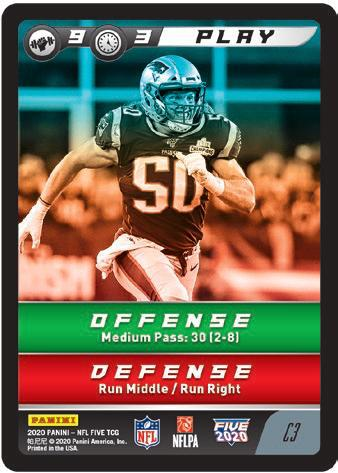 2020 Panini NFL Five Trading Card Game Football Cards 2