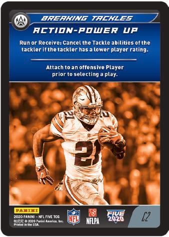 2020 Panini NFL Five Trading Card Game Football Cards 3