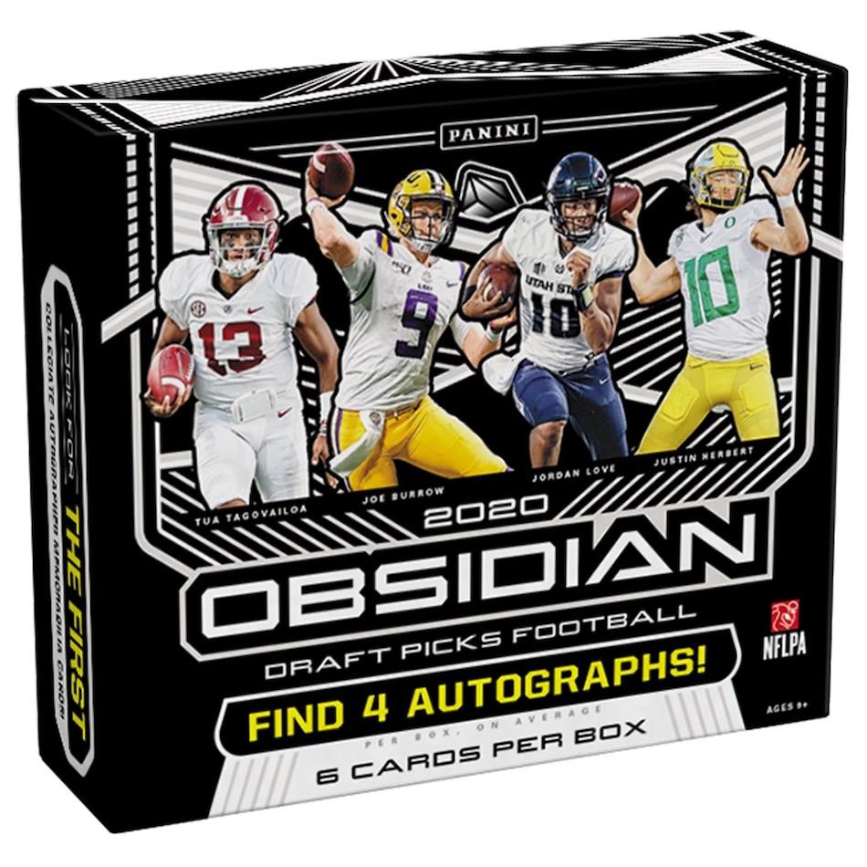 2020 Panini Obsidian Draft Picks Football Cards - Checklist Added 3